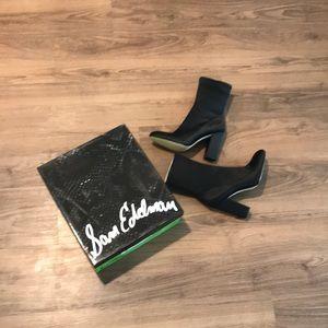 NEVER WORN Black Sam Edelman Calexa Sock Bootie